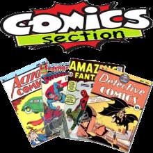 COMICS & MAGAZINES