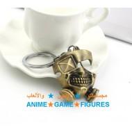 سلسلة مفاتيح قناع كانيكي طوكيو غول